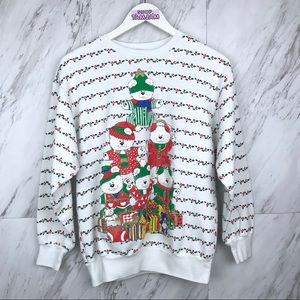 Vintage'92 Christmas Holiday Crew Neck Sweatshirt